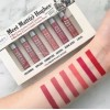 The Balm Meet Matte Hughes 6 Mini Long Lasting Liquid Lipstick Set เก็บปลายทางฟรี